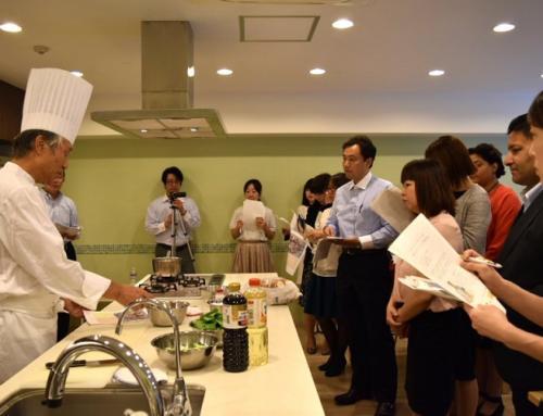 元宮内庁総料理長によるヴィーガンお料理会を開催しました