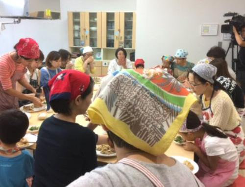 お料理教室「皮からつくるベジ餃子」を開催致しました