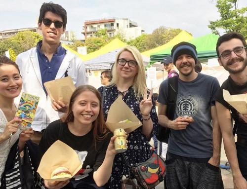 See you at Green Food Festa in Ueno Park on 30th April – 1st May!